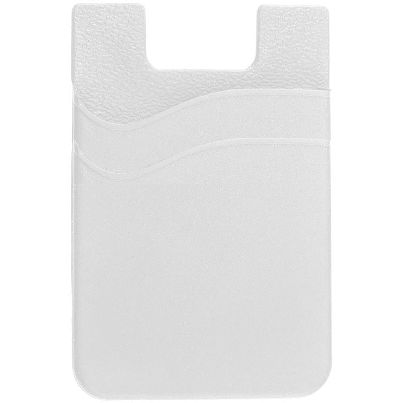 Dual Pocket Cell Phone Sleeve with 3M Adhesive Backing