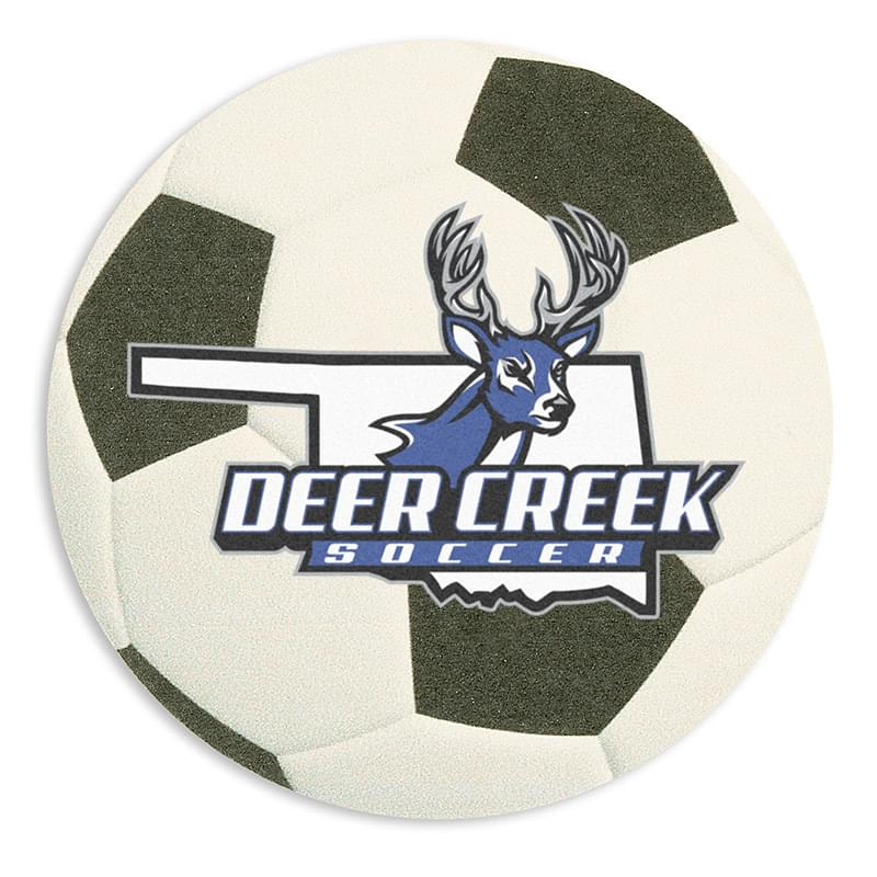 40 Point Soccer Ball Coaster