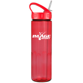 24oz Prestige Bottle with Sport Sip Lid & Straw