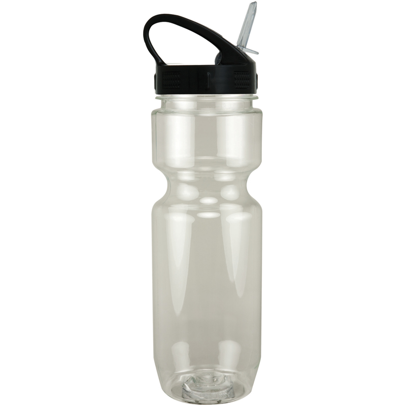 22Oz Translucent Bike Bottle With Sport Sip Lid
