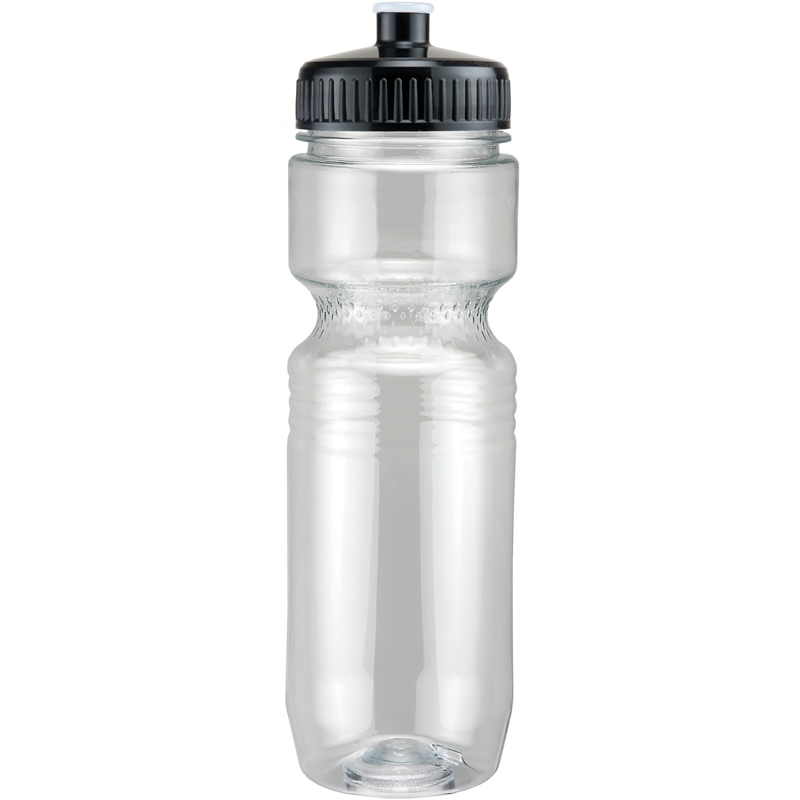 26Oz Translucent Jogger Bottle With Push Pull Lid