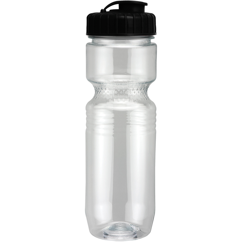 26Oz Translucent Jogger Bottle With Flip Top Lid
