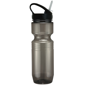 26oz Translucent Jogger Bottle with Sport Sip Lid & Straw