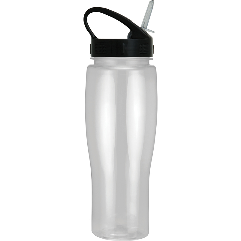24Oz Translucent Contour Bottle With Sport Sip Lid
