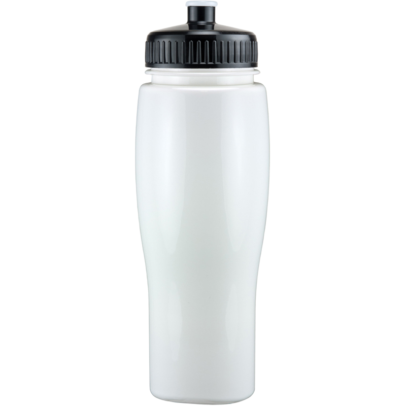 24Oz Contour Bottle With Push Pull Lid