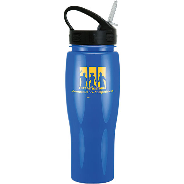 24Oz Contour Bottle With Sport Sip Lid