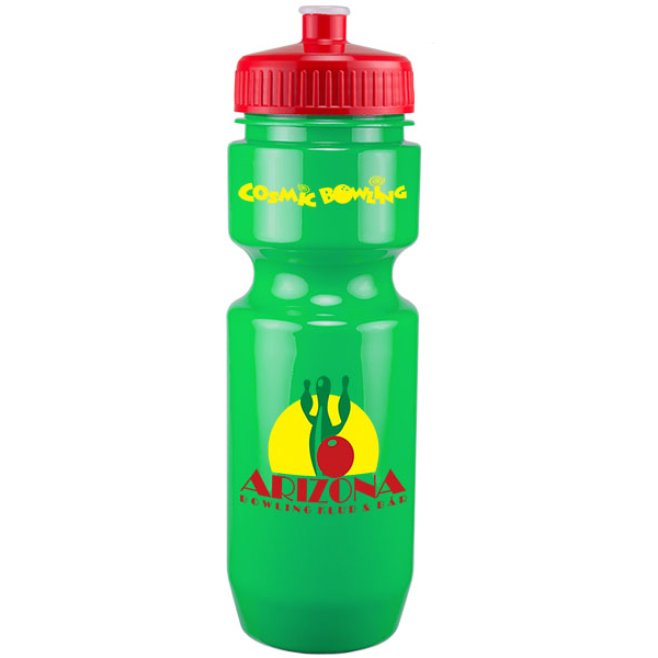 22Oz Bike Bottle With Push Pull Lid