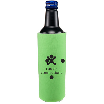 16oz Tall Bottle Coolie 2 side imprint