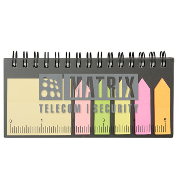 Spiral Flag Notepad
