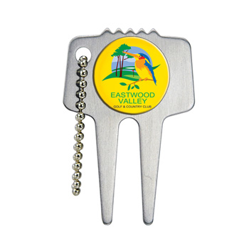 Domed Steel Divot Tool