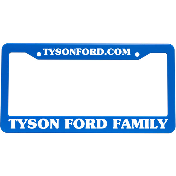 License Frames & Plates | Tycopromo
