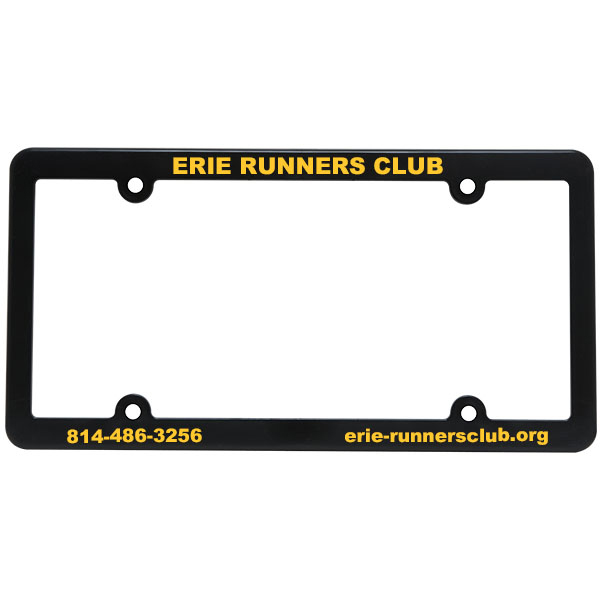 Slim Line License Plate Frame