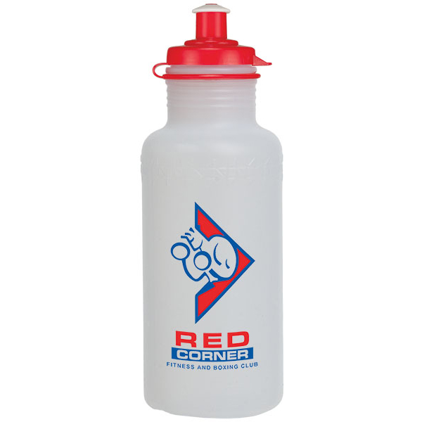 18Oz Fitness Bottle With Push Pull Lid