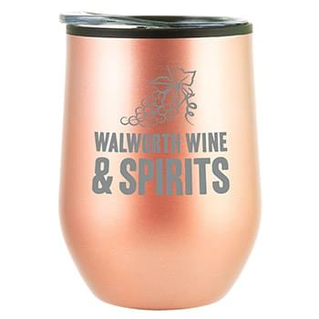 12oz Bay Mist Tumbler with Lid
