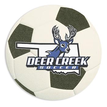 60 Point Soccer Ball Coaster