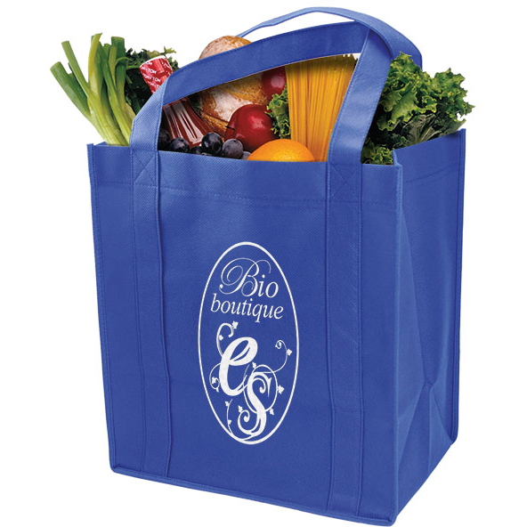 Grocery Tote With Reinforced Base